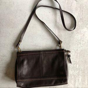 The Sak Brown Leather Crossbody